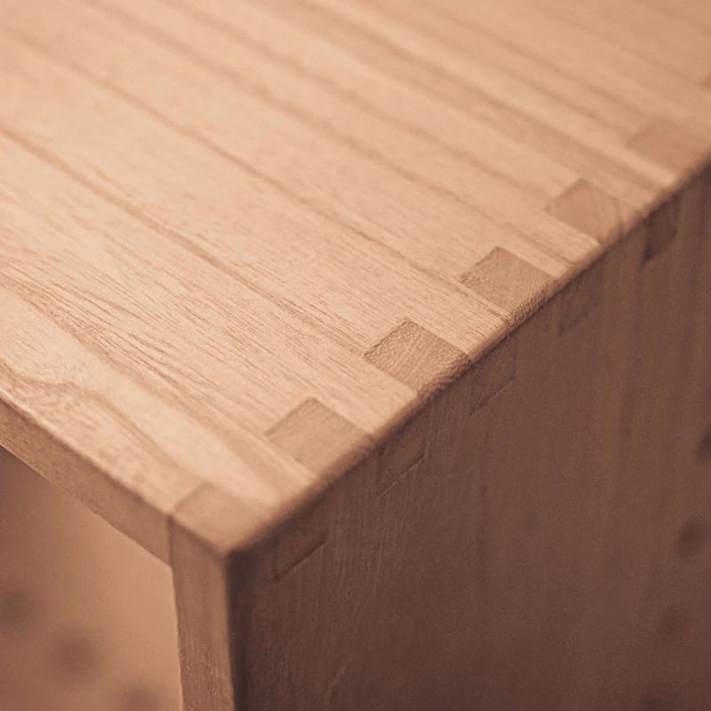 全实木书柜简约自由组合格子柜简易书架收纳置物柜小柜子储物柜