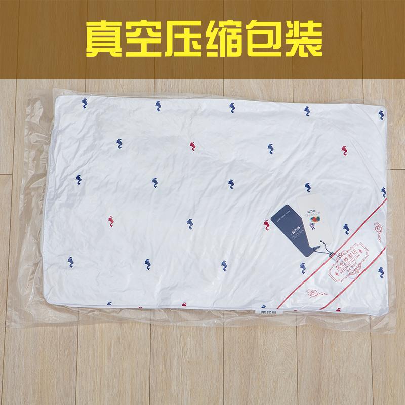 五星级酒店枕头枕芯一对拍2 成人真空护颈椎枕套装 学生单人枕芯