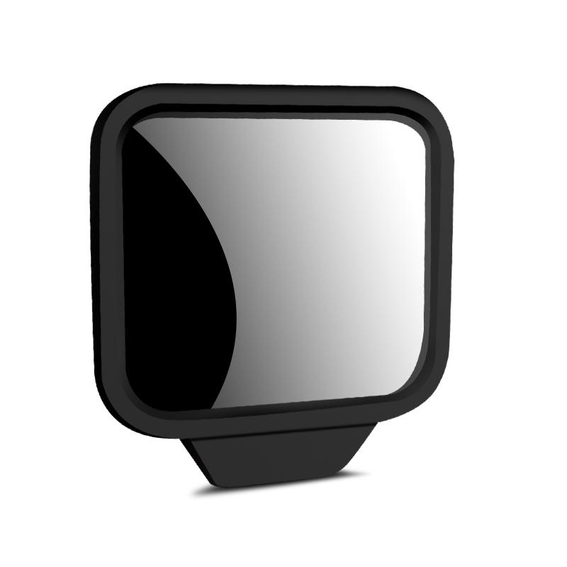 汽车二排后视镜后排座B柱下车辅助倒车盲点镜车内宝宝观察镜用品