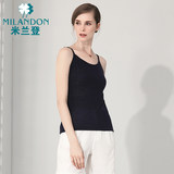 Milan Dengchunqiu new mother wear vest bottoming shirt with middle-aged and elderly cardigan women's fashion 1D3W0107