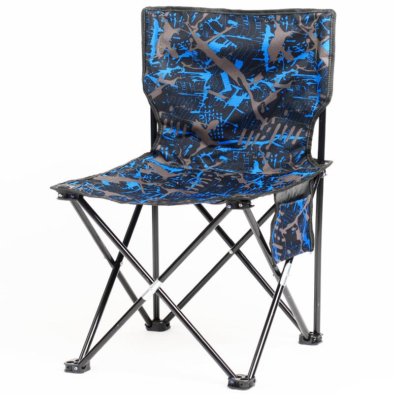 钓鱼折叠椅子便携式户外小马扎靠背地铁火车登子排队美术生写生椅