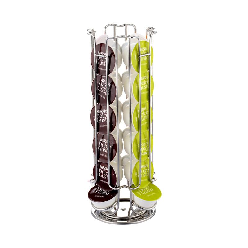 膠囊咖啡收納架360度旋轉雀巢多趣酷思Dolce Gusto專用咖啡膠囊架