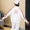 幼儿园园服春秋冬装中小学生校服加绒中国儿童班服青少年运动套装