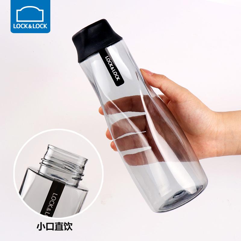 乐扣乐扣水杯旗舰店便携塑料随手杯夏学生水壶户外运动大容量杯子
