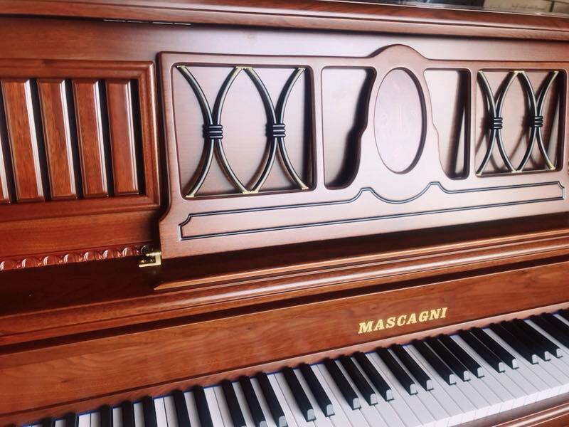 殿堂级家用演奏欧式钢 型立式轻奢复古钢琴 125B 香港玛斯卡尼全新