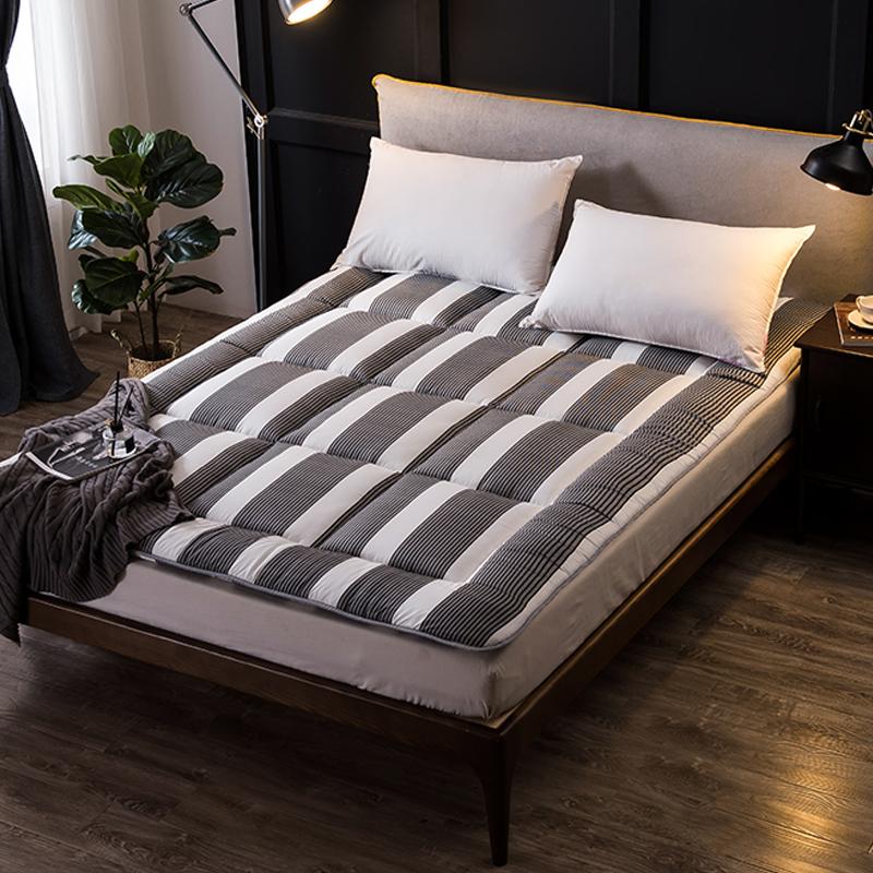 床垫1.8m床1.5m床1.2米单人双人褥子垫被学生宿舍海绵榻榻米床褥