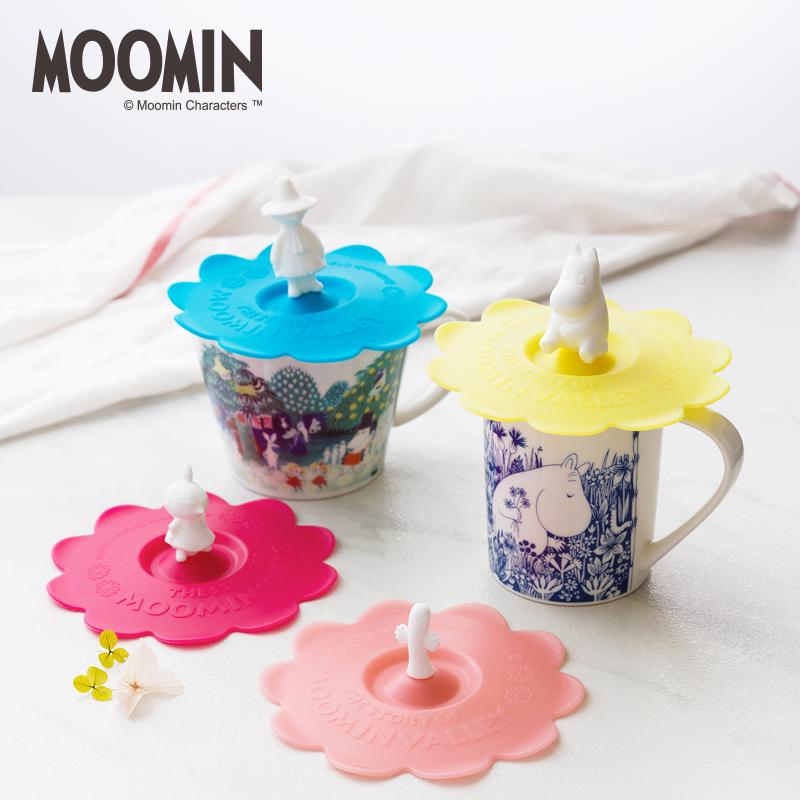 姆明Moomin芬蘭矽膠杯蓋 通用型水杯卡通蓋子 陶瓷杯馬克杯蓋子