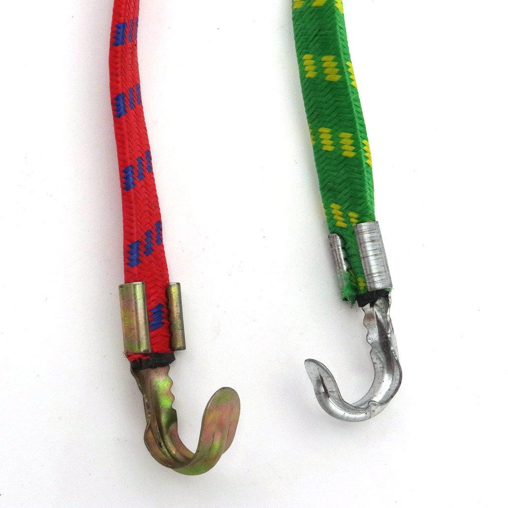 弹性绑带捆绳 扁钩捆扎带 电动自行车绳子 货架行李松紧车带