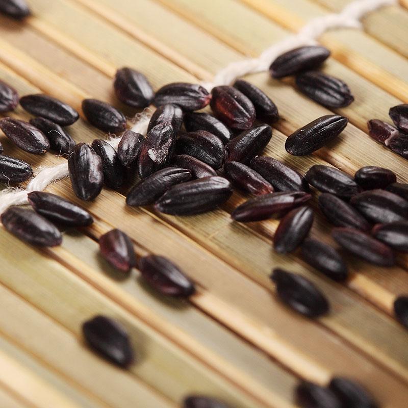 鲜享黑米黑香米500g*3袋东北农家黑米紫米五谷杂粮粗粮
