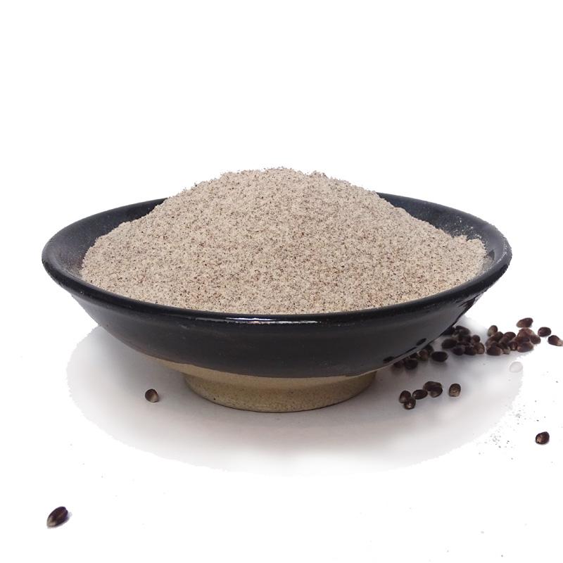 农家现磨 黑全麦粉 纯黑小麦全麦面粉含麦麸无添加烘焙馒头面包粉