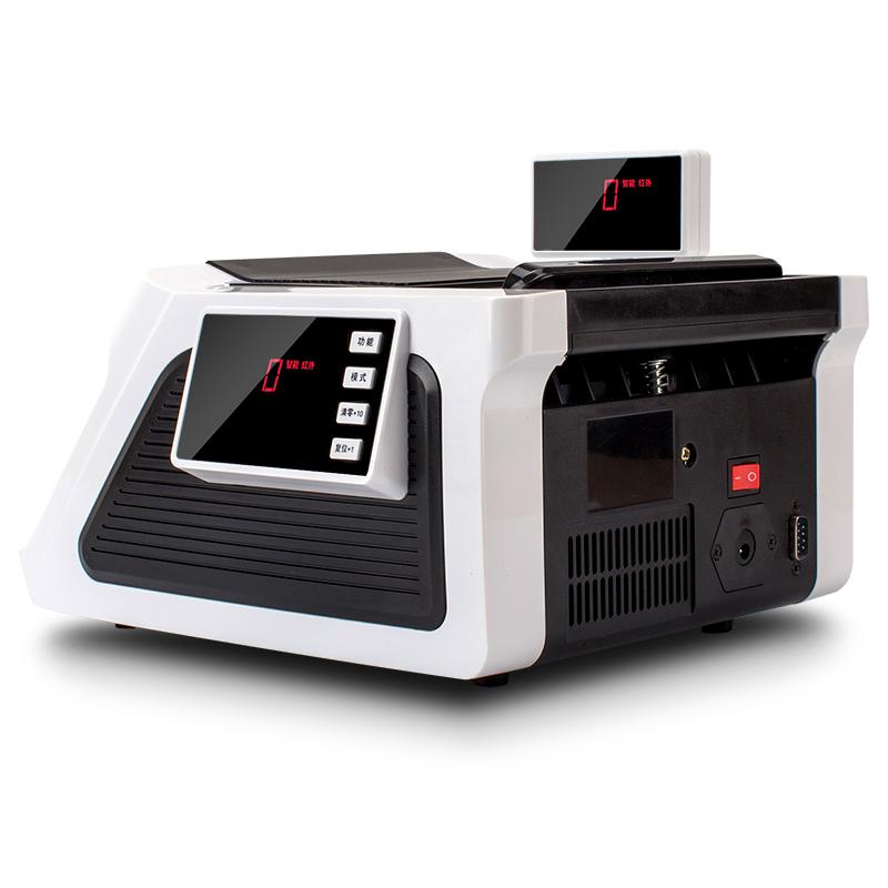 得力验钞机小型便携式点钞机银行专用迷你家用智能可充电人民币商用数钱机得力正品