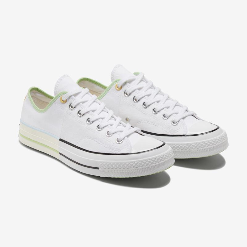 CONVERSE匡威官方 Chuck 70低帮撞色拼接休闲鞋男女运动鞋171181C