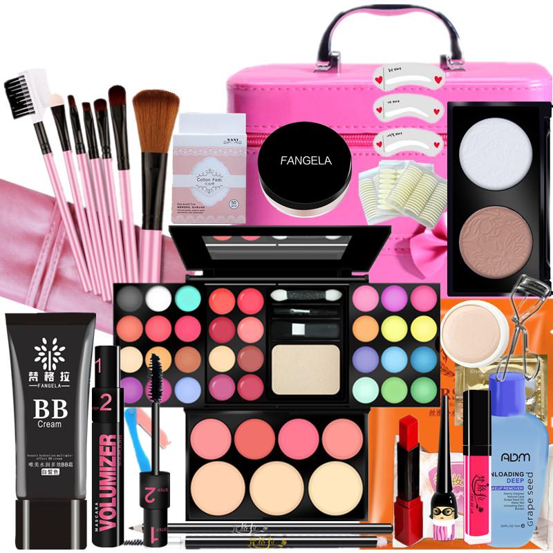 化妆品套装彩妆全套初学者组合少女学生党新手美妆用品淡妆自然正
