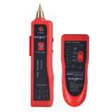 Tengfei multi-function line finder detector line finder tester network cable tester network signal on-off tool line checker line inspection device to find network cable tester phone line tester set