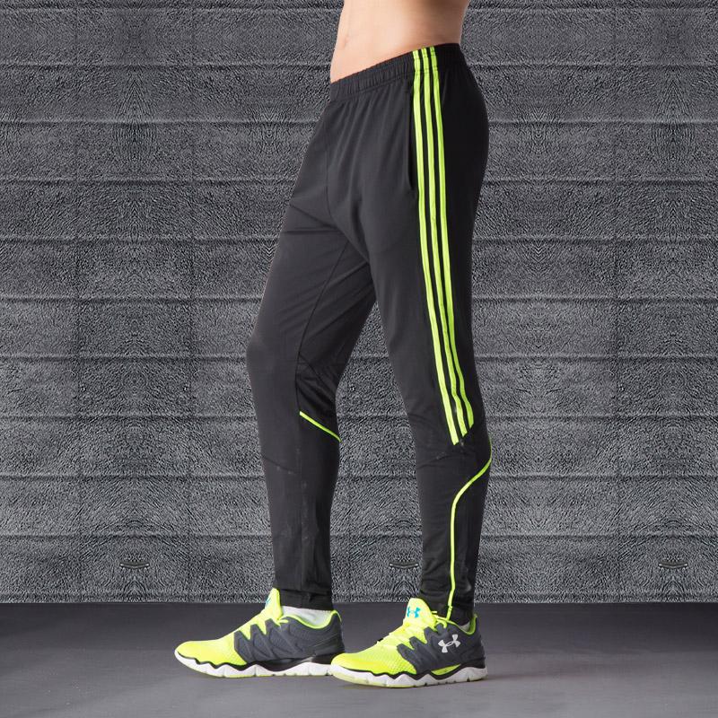 男士足球裤男春夏薄款款宽松休闲裤速干长裤训练跑步健身运动裤