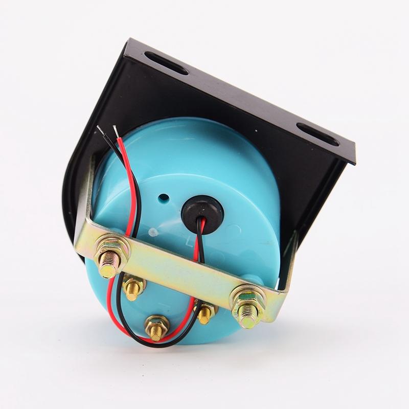 改装黑色包邮机油温度表自带感应LED灯12V车通用仪表汽车改装配件