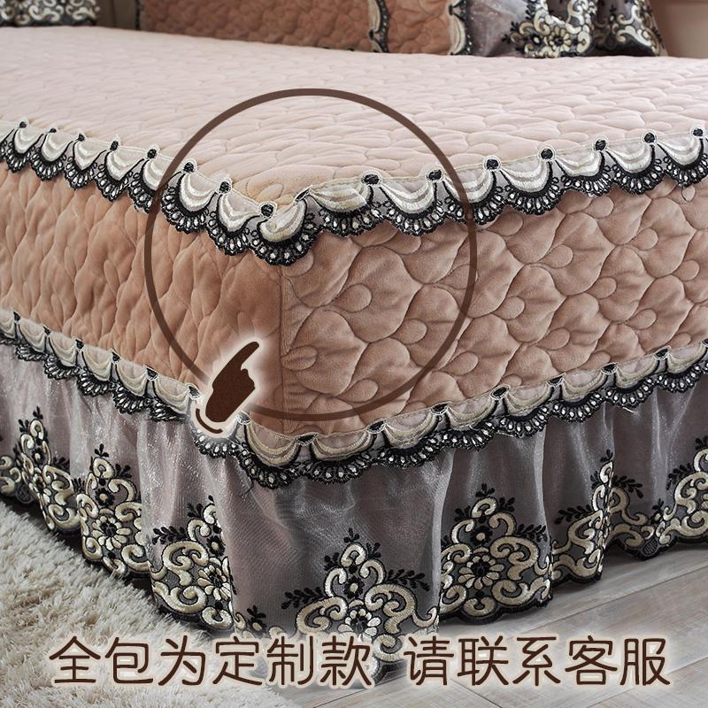 冬季毛绒沙发垫欧式布艺通用全包沙发套四季贵妃组合防滑坐垫罩盖