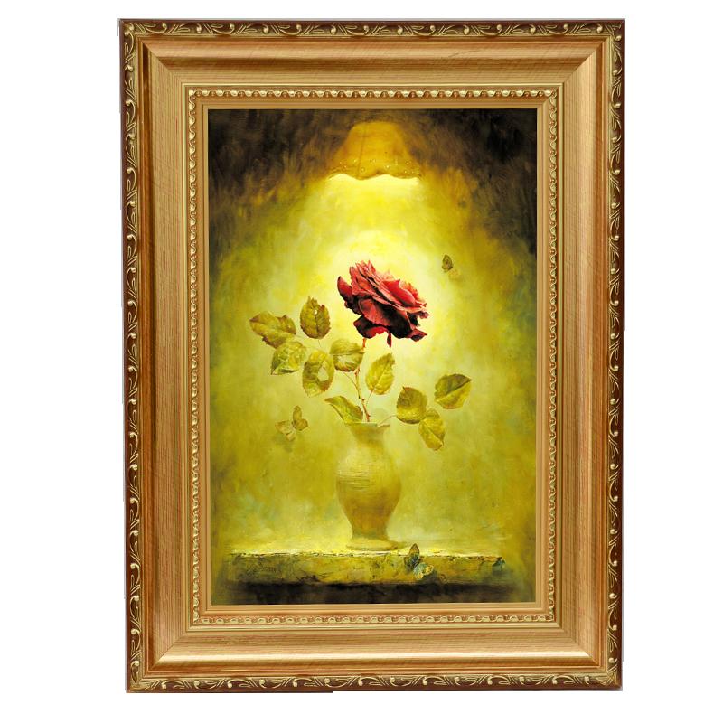 純手工油畫手繪肖像畫婚紗照片真人油畫寵物畫抽象風景裝飾畫定制