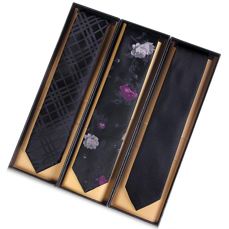 领带男韩版窄版5cm黑色男女士 新郎结婚商务正装学生潮流小休闲
