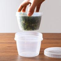 日本进口nakaya葱花保鲜盒姜片大蒜冰箱专用水果收纳盒厨房沥水盒 (¥14)