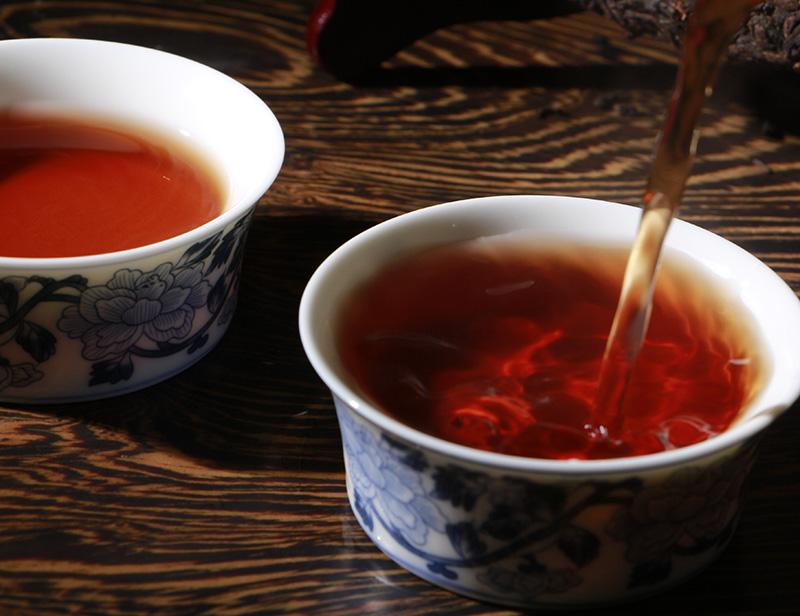 元茶 PK100 饼 元 16.8 年老茶干仓熟茶饼 05 普洱茶熟茶饼茶