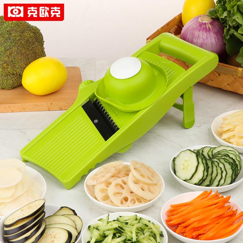 家用多功能切菜器水果切片机小型柠檬切片器厨房土豆丝切丝器神器
