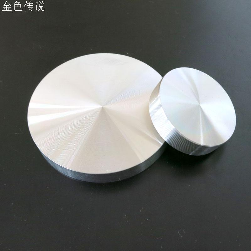 毛坯铝轮毂 金属车轮   厚铝片 DIY铝制 模型轮毂 机器人轮毂