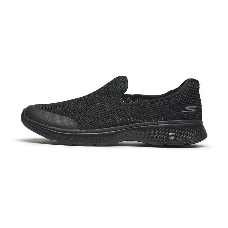 54158 斯凯奇男鞋一脚蹬镂空运动鞋网面透气老人健步 Skechers 夏季