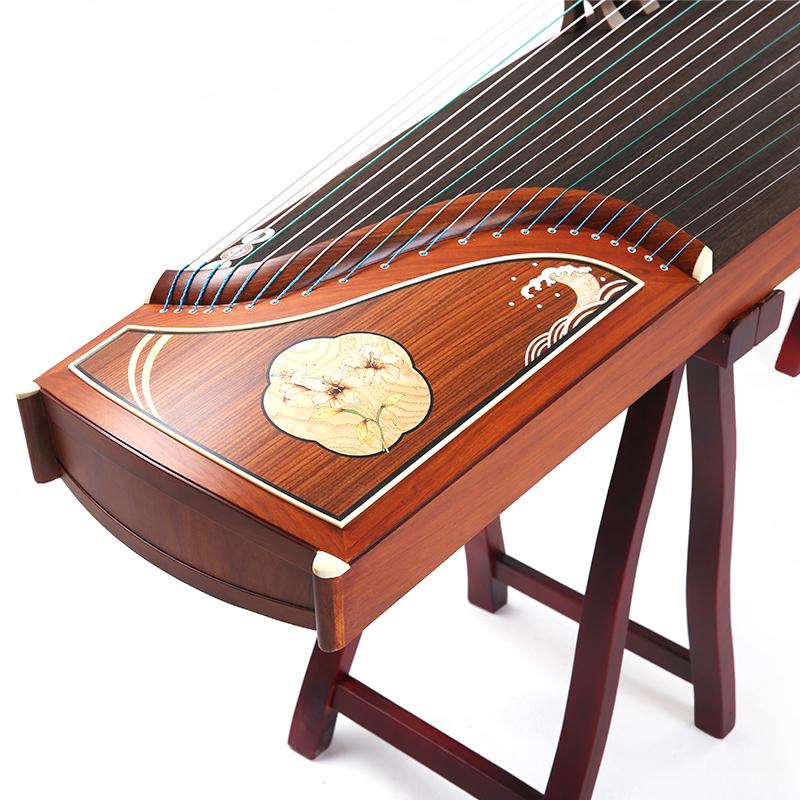 初学者入门古筝 专业演奏考级琴筝乐器 月映九辉 润扬古筝
