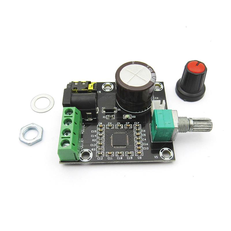 PAM8610双声道12V高清功放板 纯数字 15W*2 大功率 功放