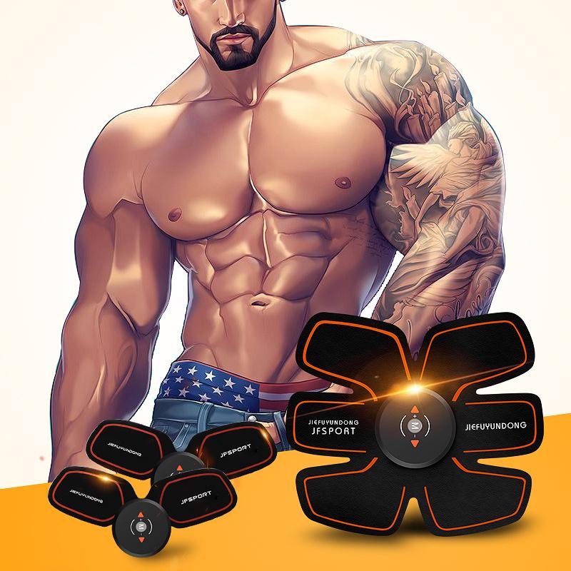 腹肌贴健身器材家用速成神器黑科技肌肉训练懒人运动收腹机智能仪