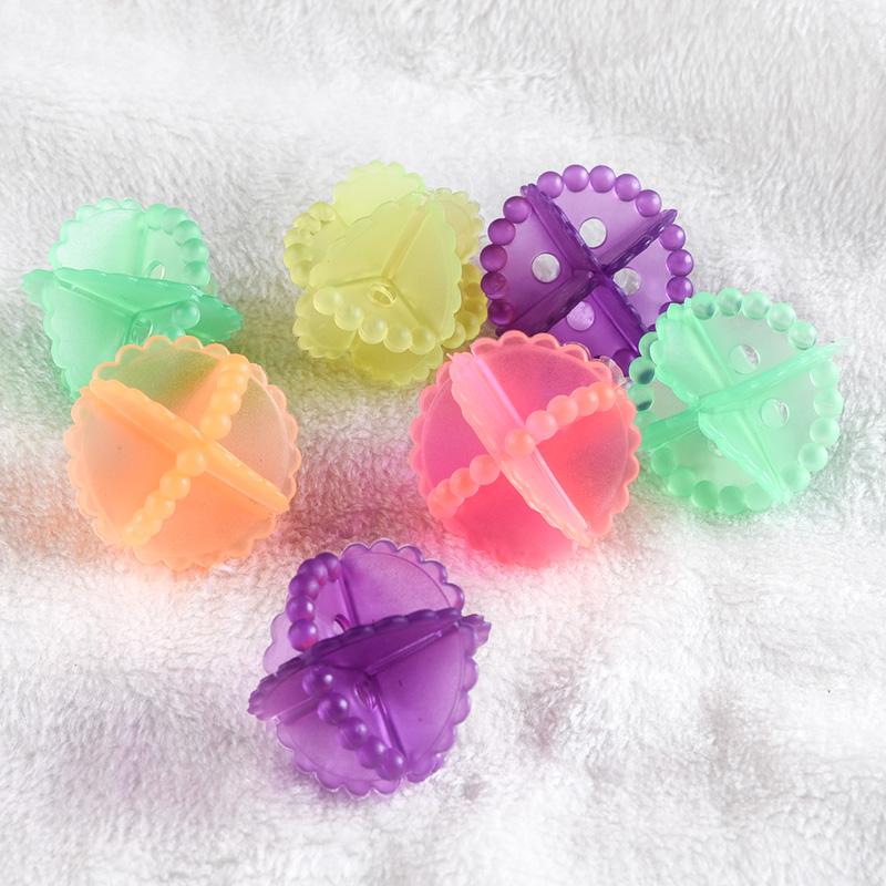 炫彩去汙洗護球洗衣機防纏繞洗衣球清潔球機洗衣物魔力去汙