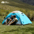 MU Gaodi outdoor windproof and rainstorm-proof outdoor camping equipment supplies 1-4 people tent ten years cold mountain