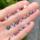 天然尖晶石裸石戒面  枕形4.5MM6MM 天然尖晶石原石 mini 4