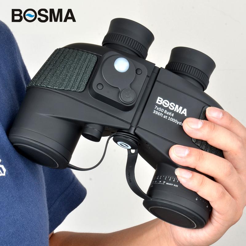 博冠望远镜双筒野狼罗盘军工测距高倍高清人体夜视专业户外军事用