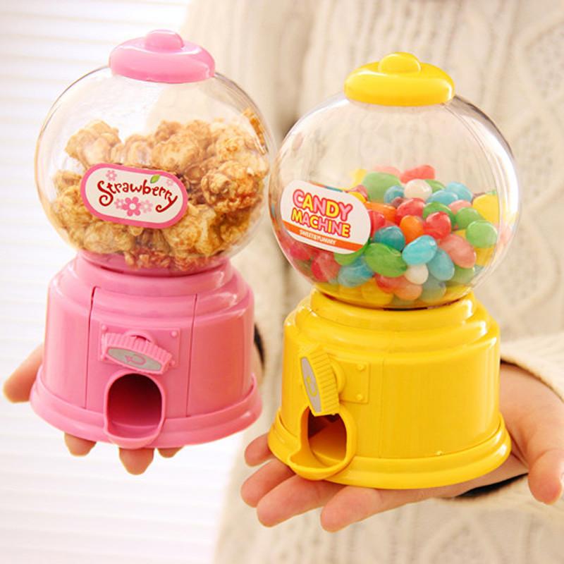 彩虹糖扭蛋机彩虹糖利机玩具儿童大号迷你扭糖机攒钱罐少女存钱罐