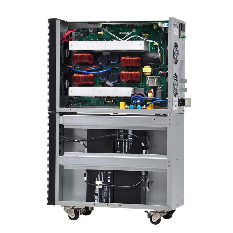 山克SC6KVA在线式UPS不间断电源4800W正弦波内置电池15分钟标机