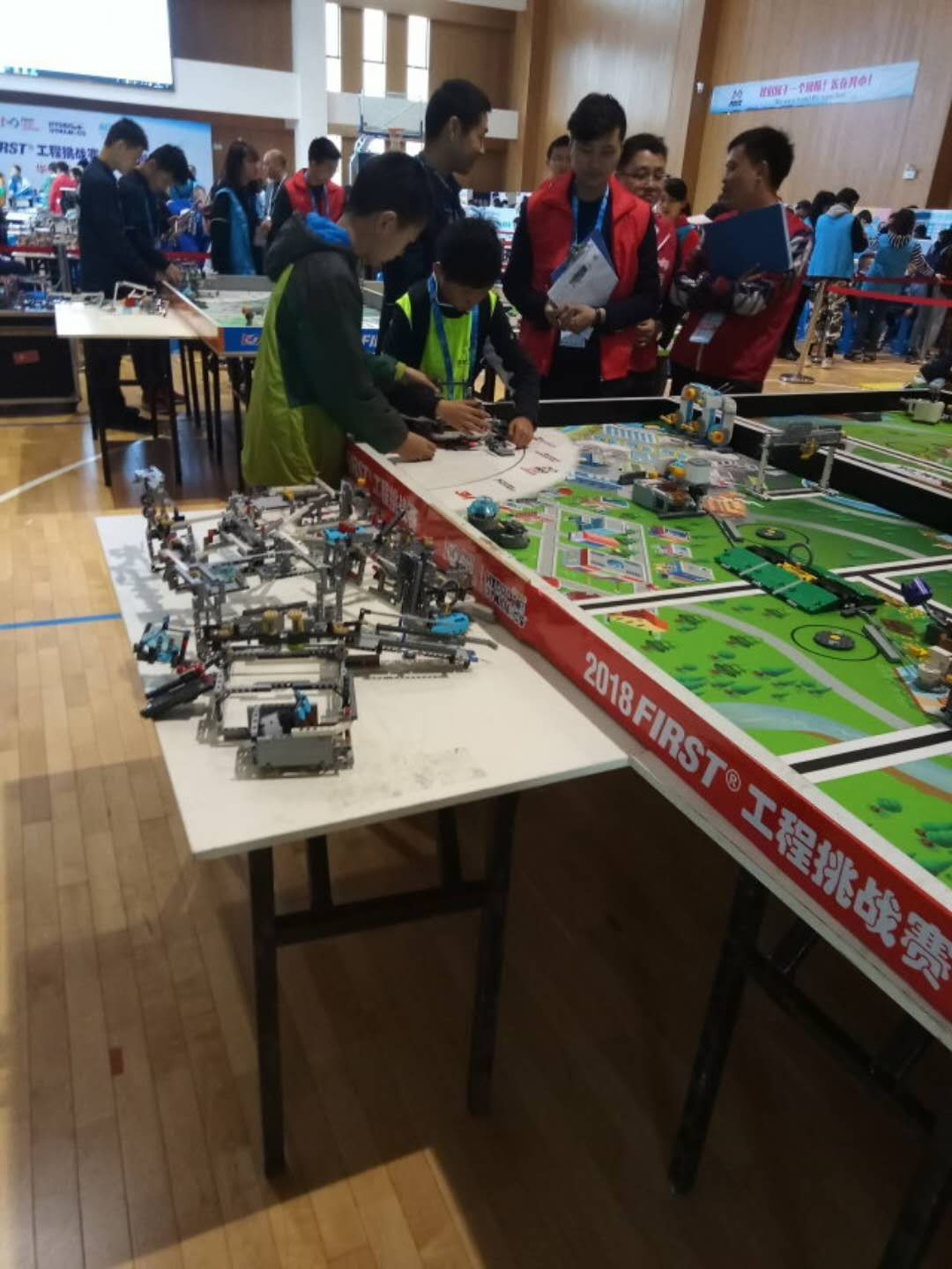 德邦包邮 ev3 机器人比赛赛台科技桌子叠定制训练场地 2019Fll 乐高