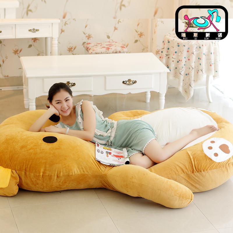 卡通婴儿床毛绒玩具床超大号龙猫床叮当猫床单双人儿童床床垫睡袋