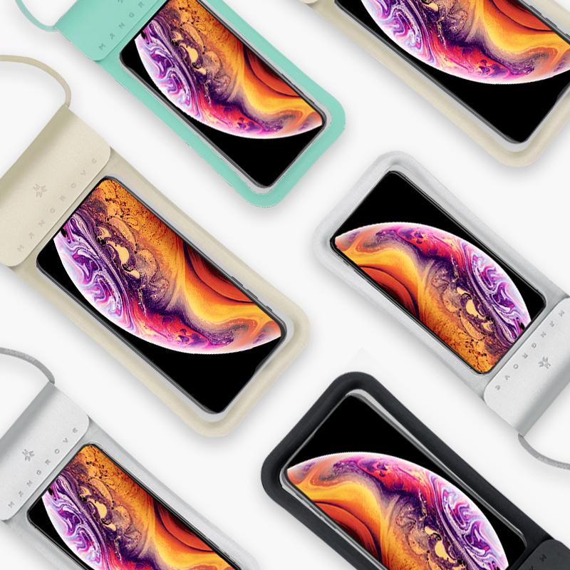 曼哥夫手机防水袋潜水手机套触屏通用游泳防水袋防尘包苹果华为