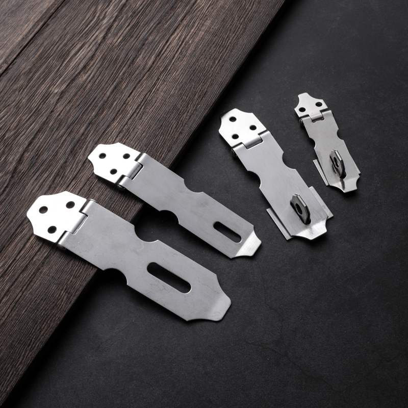 不锈钢锁扣可加挂锁抽屉柜子锁门扣房门卧室门搭扣室内门挂扣包邮