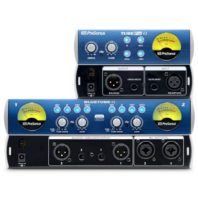 【叉烧网】PreSonus TubePre/Blue tube DP电子管话放