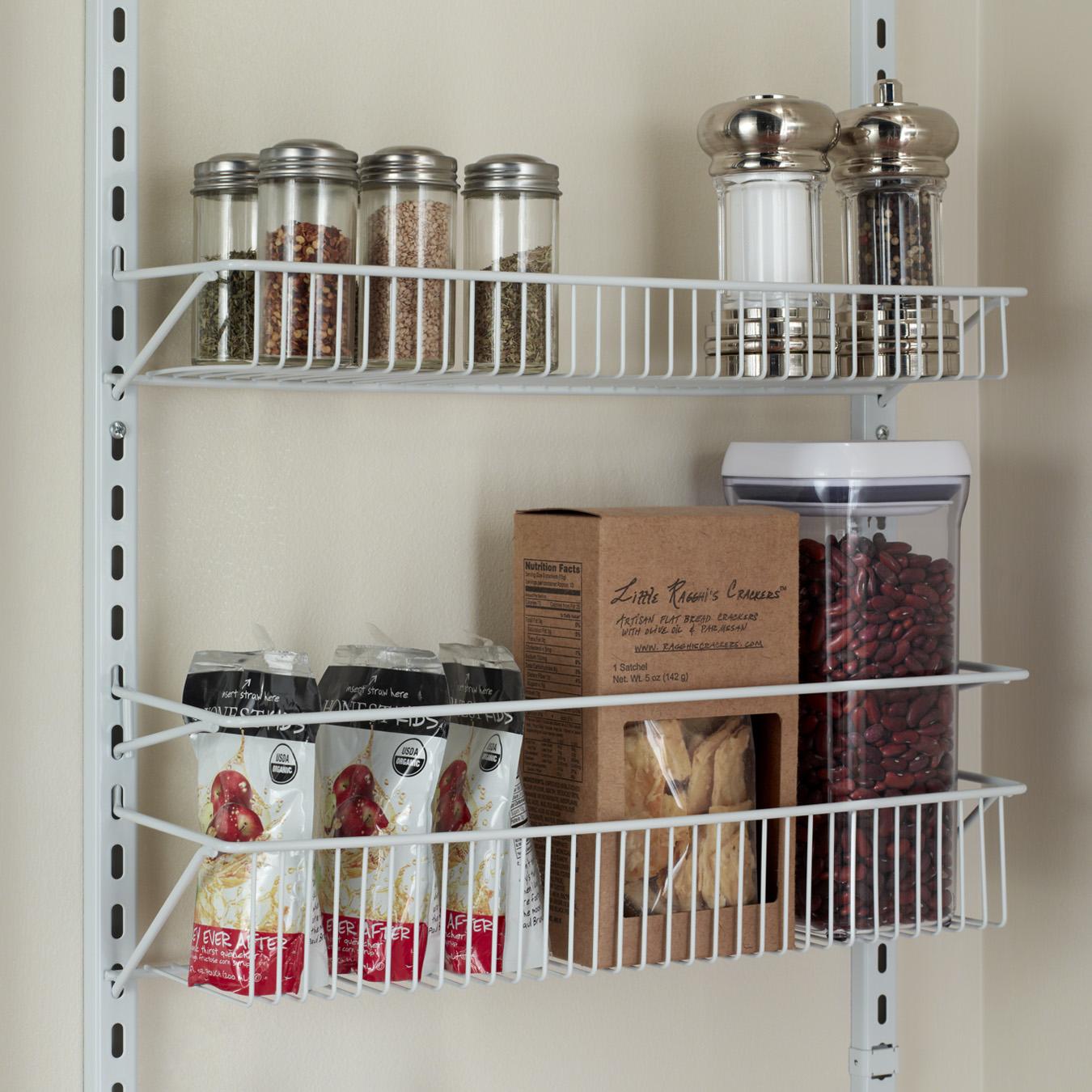 可调节八层厨房多功能置物架收纳挂架 阁室美 ClosetMaid