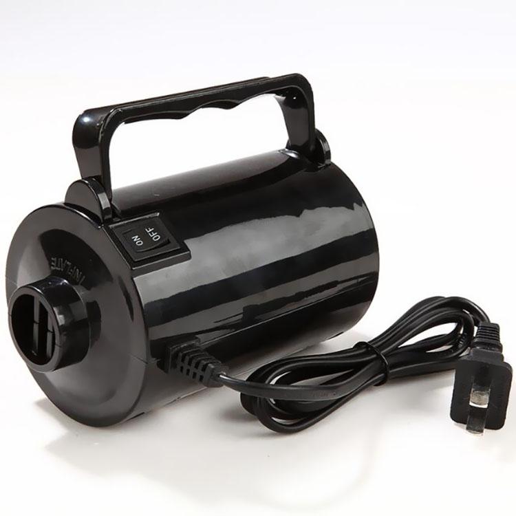 车载12伏电动充气泵家用220V电泵水池气床垫橡皮艇冲气泵打气筒泵