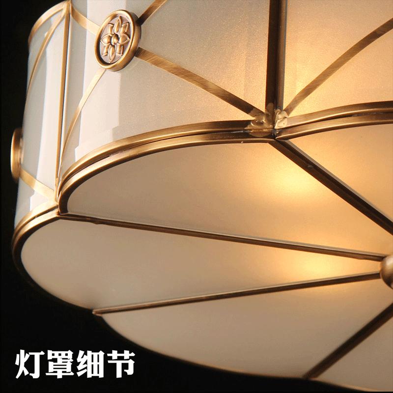 奥灯美式全铜吊灯全屋成套组合套餐全铜五件套组合套餐灯具1613A