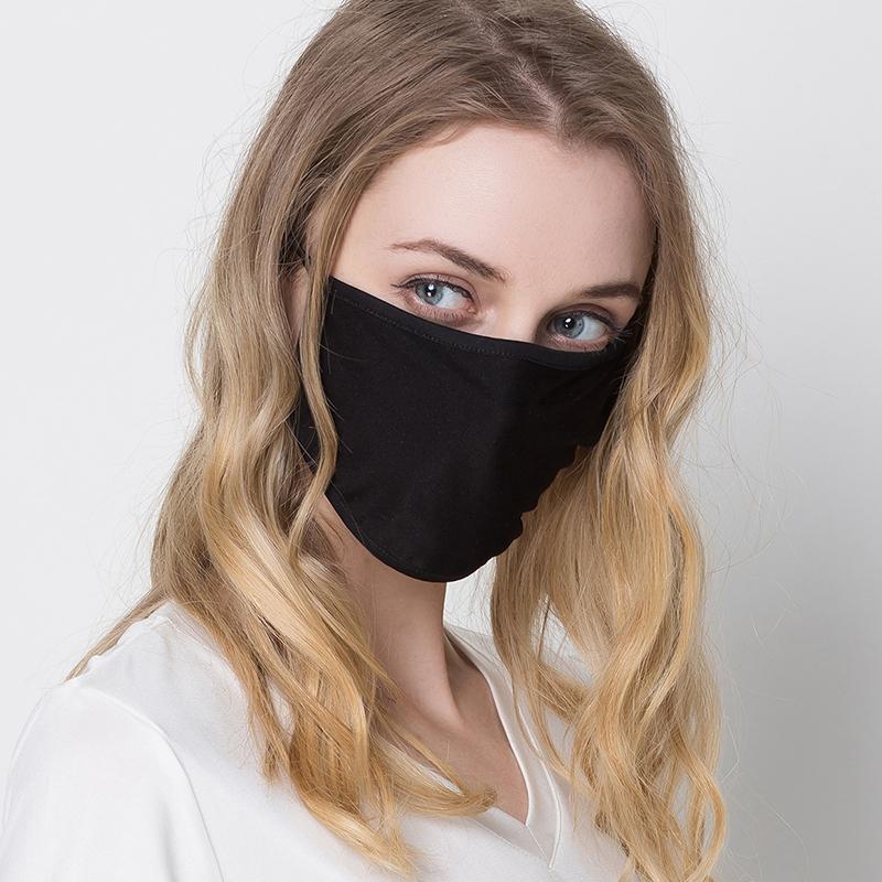 夏季薄款真丝口罩女士舒适透气遮阳防晒双层桑蚕丝针织易呼吸面罩