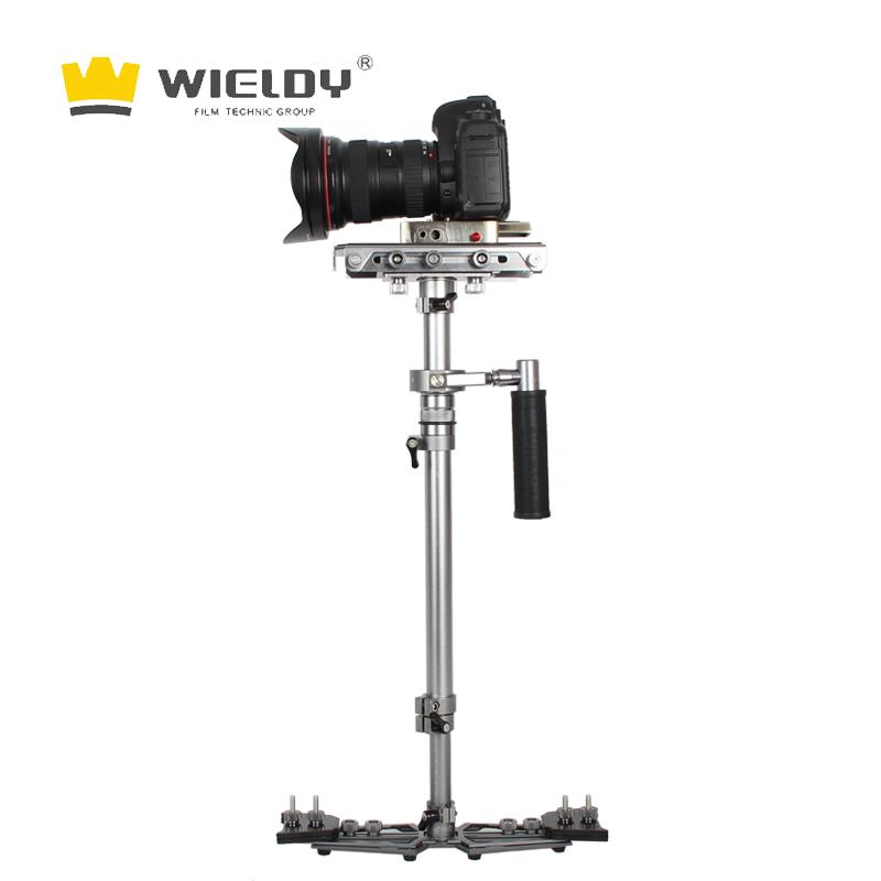 威尔帝单反相机摄影摄像机HD2000S手持机械稳定器 5D3微单三轴防抖小斯坦尼康铁三角通用曼富图云台快装组
