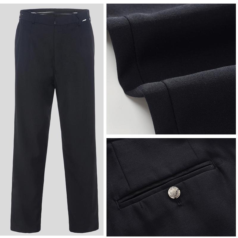保安夏裤男黑色夏季保安制服夏装工作裤保安夏装裤薄款职业工装裤