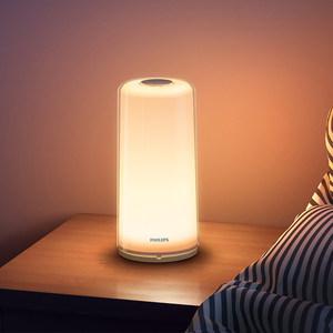 飞利浦小米米家智能床头灯卧室声音律动氛围灯情调小台灯夜灯智睿