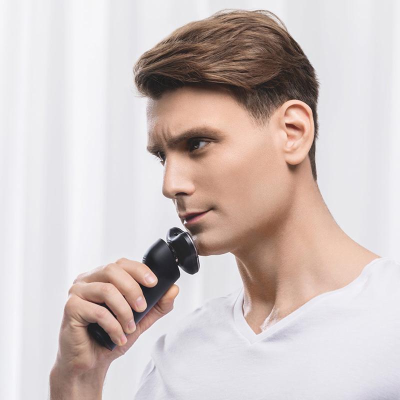 米家电动剃须刃滦士刮胡刃全身水洗充电式胡须刃正品剃预刃 小米